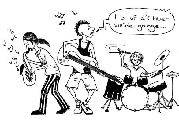 Oh, dieses Schweizerdeutsch: Rockband